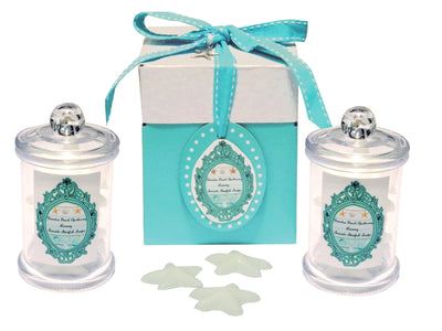 Seashore Starfish Soaps Apothecary Jar Favor Set 12-Free Starfish Jewelry Charm