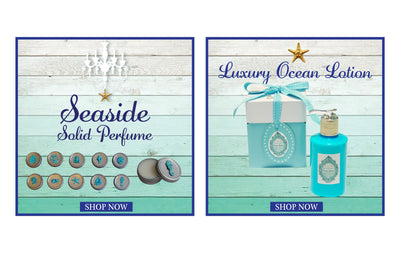Beach Body Ocean Lotion-Free Seashell Charm