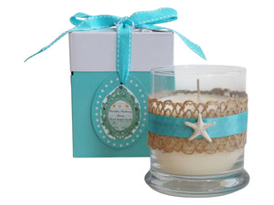 Luxury Beach Starfish Candle-Comes with a free Necklace Charm