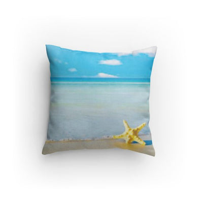 Dream Starfish Beach Pillow