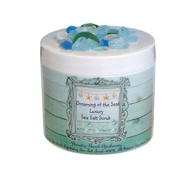 Dreaming of the Sea Luxury Sea Salt Scrub-FAVOR SET OF 15 COUNT