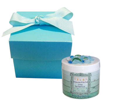 Travel Size Dreaming of the Sea Luxury Sea Salt Scrub 2 OZ-Free Starfish Charm