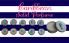 Luxury Seaside SEAHORSE Solid Perfume-Comes with a free Necklace Charm