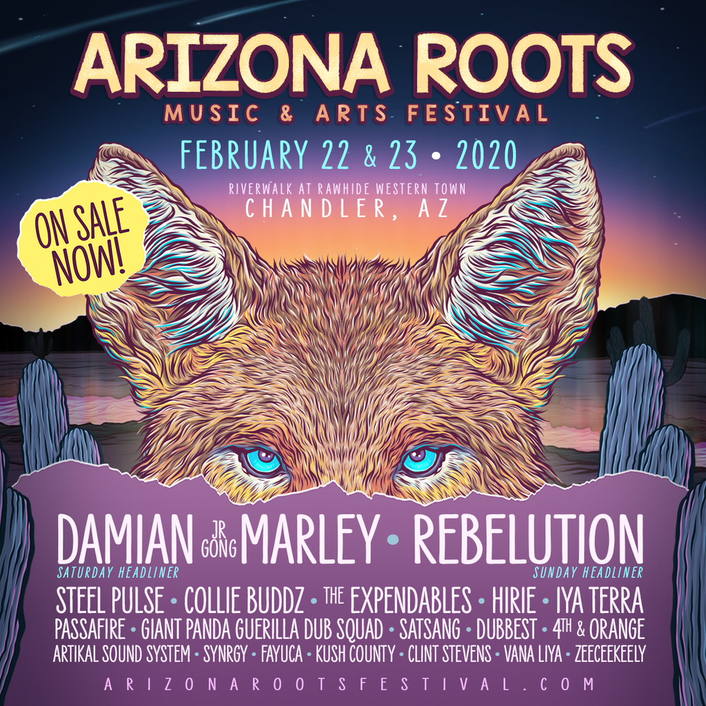 Arizona Roots Music & Arts Festival Returns to Rawhide Event Center in 2020