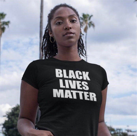 "Women ""BLM"" T Shirt"
