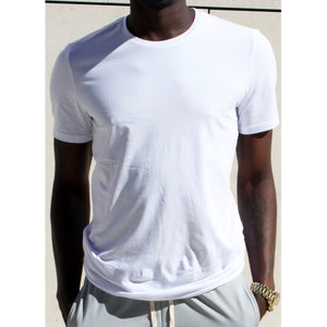 Round Neck Slim Fit Tee