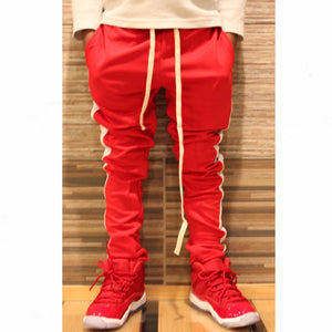 Red/White Kid's Track Pants