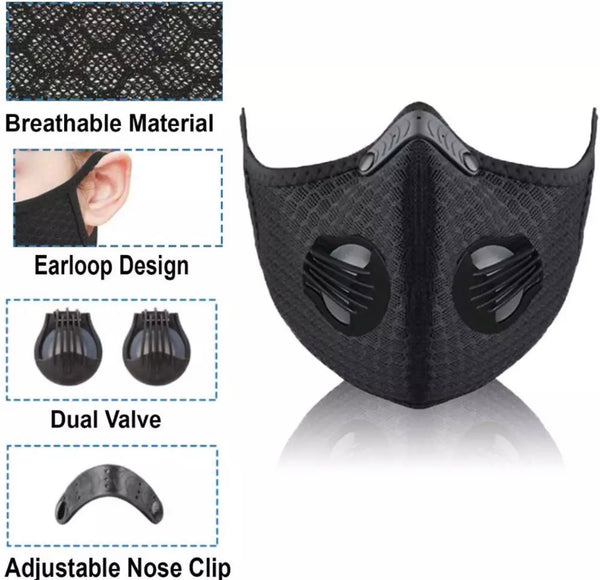 AIR PURIFYING DUST PROOF MASK