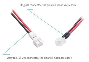 JST-PH 2.0 PowerWhoop Power Cable Pigtail