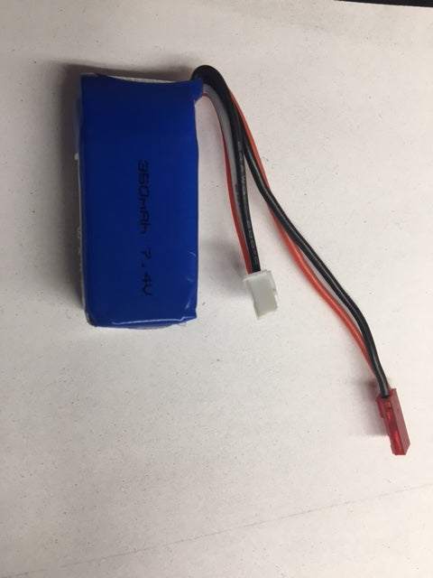 2S 350Mah battery for babyhawk and other micros