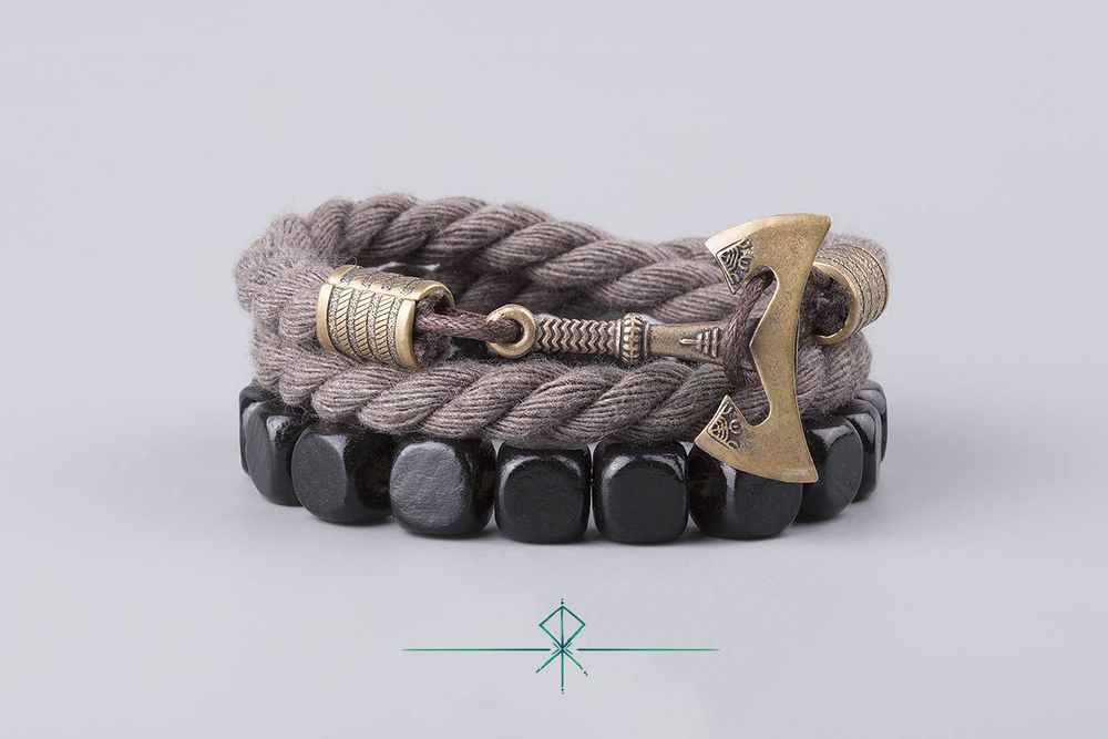 UBBE- Bronze Massif | Corde Marron