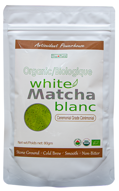 USDA Certified Organic White Tea Matcha 80 gm.