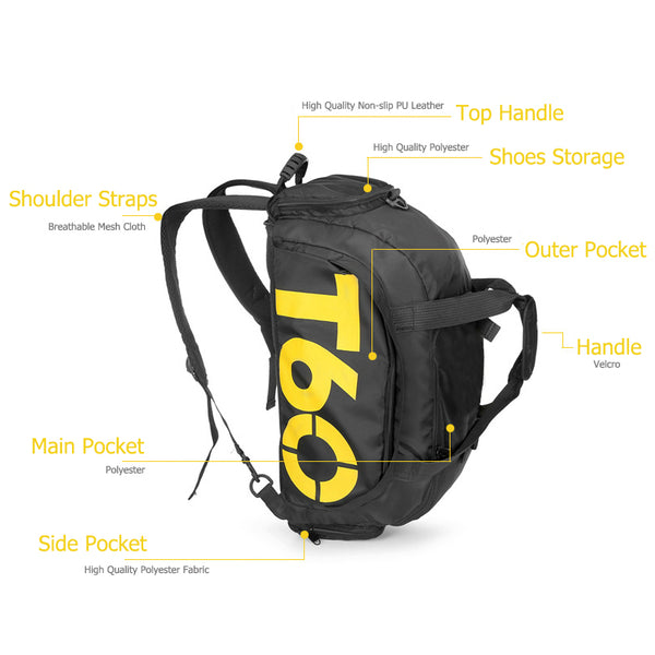 T60 Backpack Duffle Bag