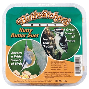 Birdwatcher's Best Nutty Butter Suet