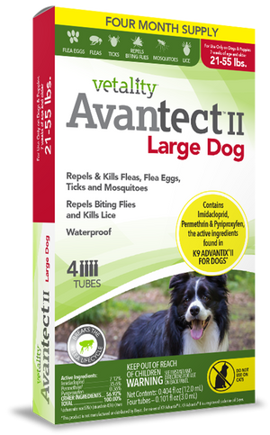 Vetality™ Avantect II For Large Dogs 21-55 lbs.