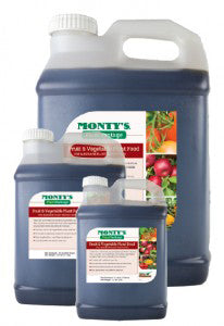 Montys Fruit & Vegetable Plant Food