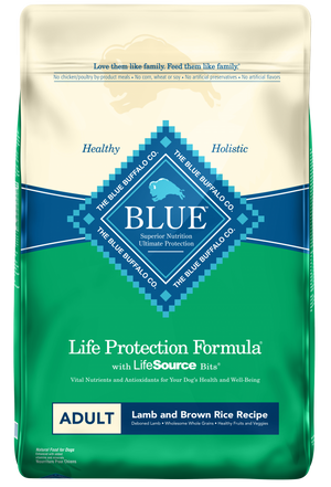 Blue Buffalo Lamb and Brown Rice Adult Dry Dog Food