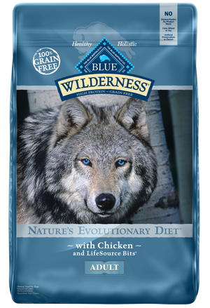 Blue Wilderness Chicken Recipe Dry Grain Free Dog Food