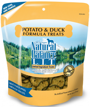 Natural Balance L.I.T. Potato and Duck Dog Treats