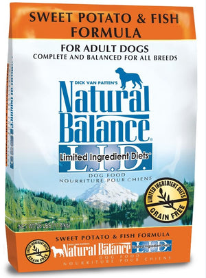 Natural Balance L.I.D. Fish and Sweet Potato Adult Dry Dog Food