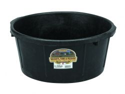 6.5-Gal Rubber Feed Tub