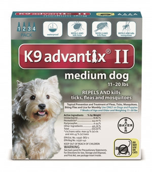K9 Advantix II Medium Dog