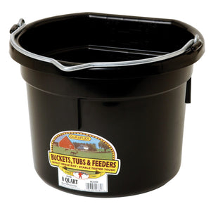 8-Qt Flat Back Bucket