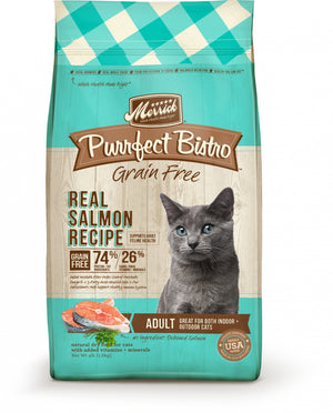 Purrfect Bistro Real Salmon Grain Free Dry Cat Food