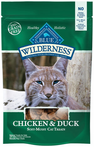 Blue Buffalo Wilderness Chicken and Duck Cat Treats