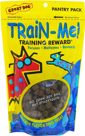 Crazy Dog Train-Me! Chicken Flavor Training Dog Treats