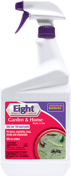 Bonide Eight Insect Control Garden and Home RTU - 32 oz