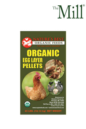 Nature's Best Organic Layer Pellets