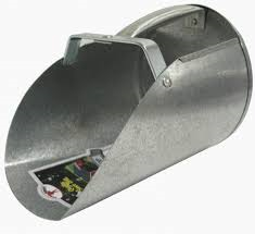6qt Galvanized Scoop
