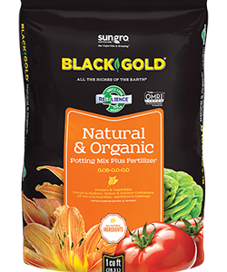 BLACK GOLD¨ NATURAL & ORGANIC POTTING MIX