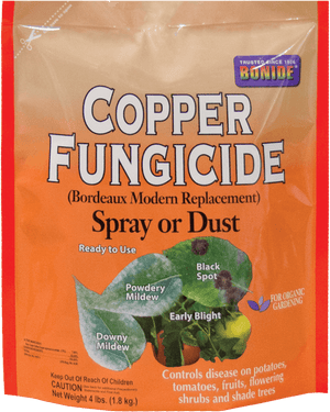 Copper Fungicide Spray or Dust