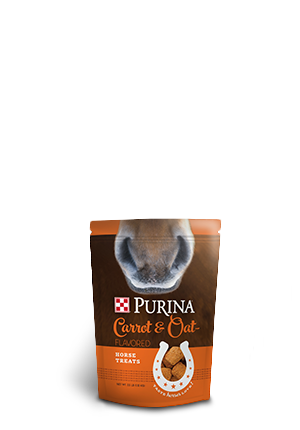 Purina Horse Treats Carrot and Oat-Flavored