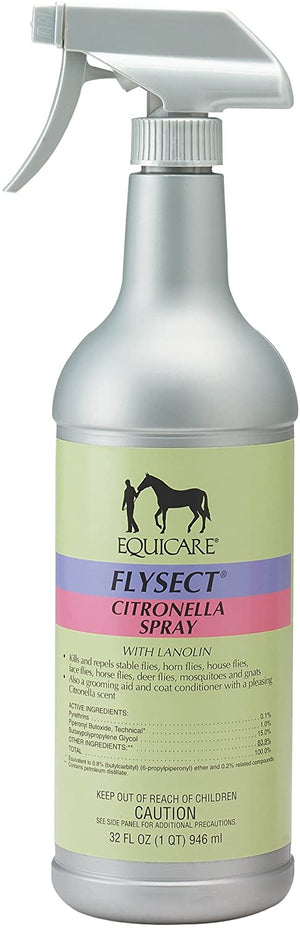 Equicare Flysect Citronella Spray with Lanolin