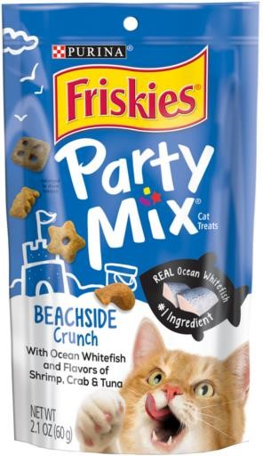 Friskies Party Mix Beach Side Cat Treats