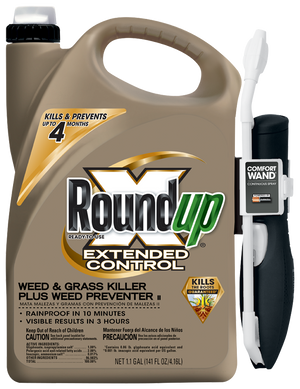 Roundup Ready-To-Use Extended Control Weed & Grass Killer Plus Weed Preventer II with Comfort Wand