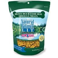 Natural Balance L.I.T. Brown Rice and Lamb Meal Dog Treats