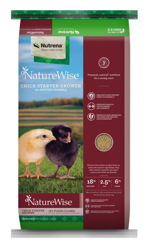 Nature Wise Chick Starter Grower Crumbles