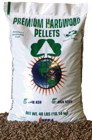 O'Malley Premium Hardwood Pellets - by the ton