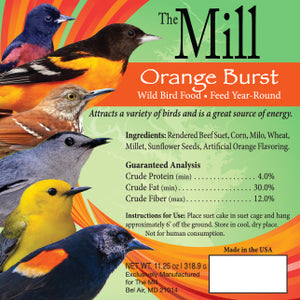 Orange Burst Suet