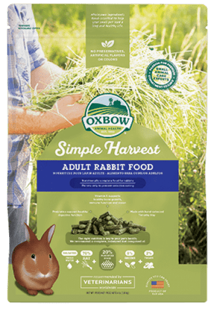 Oxbow Simple Harvest Adult Rabbit Food