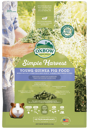 Oxbow Simple Harvest Young Guinea Pig Food