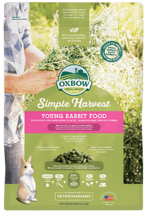 Oxbow Simple Harvest Young Rabbit Food