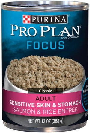 Purina Pro Plan Select Sensitive Skin Salmon and Rice Canned Dog Food