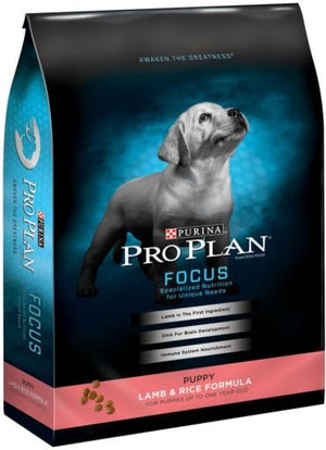 Purine Pro Plan Focus Puppy Lamb and Rice Dry Dog Food