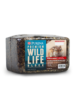 Purina Premium Wildlife Block