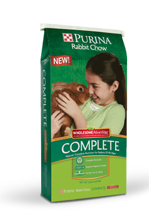 Purina® Rabbit Chow® Complete Wholesome AdvantEdge™
